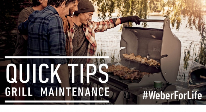 Quick Tips For Weber Grill Maintenance and Cleaning