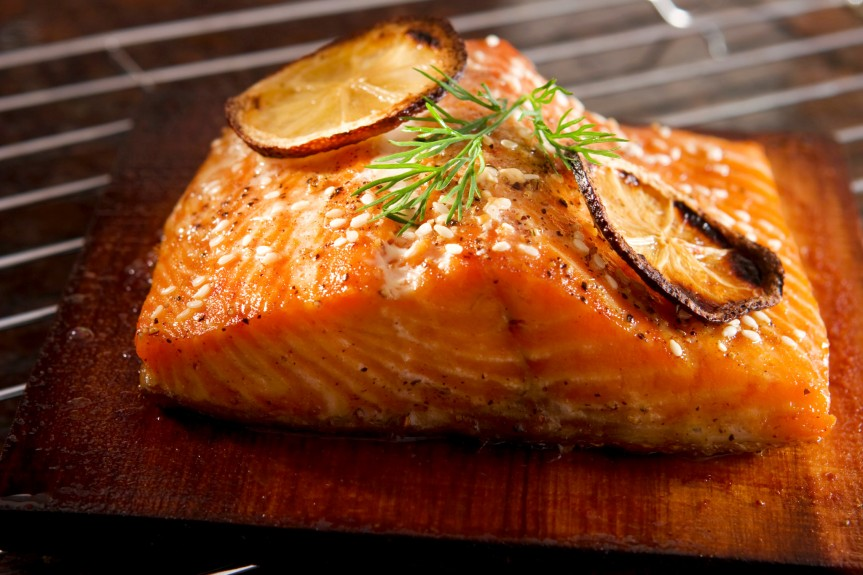 How to Grill Salmon on a CedarPlank